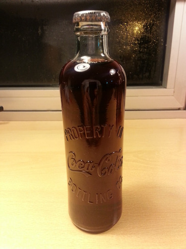 botella coca cola 120 años 255 ml. conmemorativa