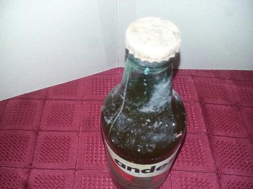 botella de cerveza andes