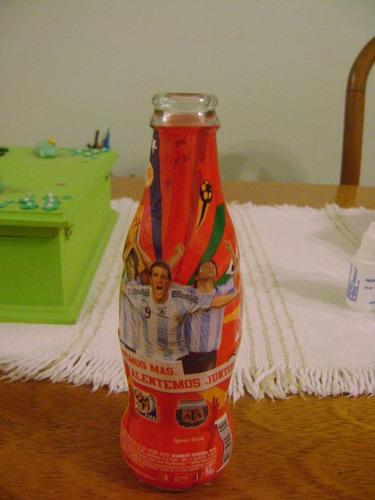 botella de coca - cola - mundial 2010