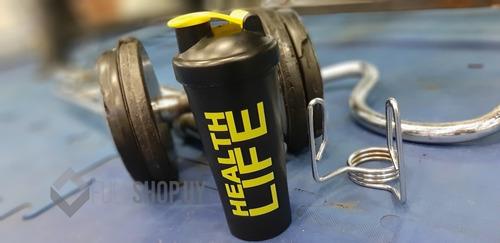 botella de hidratación deportiva health life 600ml
