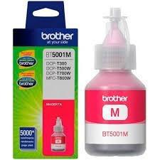 botella de tinta brother bt5001 magenta sistema continuo
