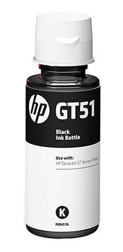 botella de tinta hp negro m0h57al - mosca