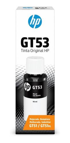 botella de tinta original negra hp gt53 para gt5810 5820 415