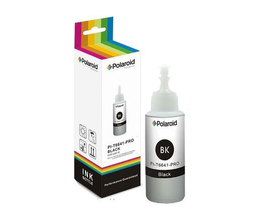 botella de tinta polaroid compatible pi-t6641 black
