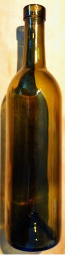 botella de vidrio con corcho c, 750 ml. recuerdos,envasar