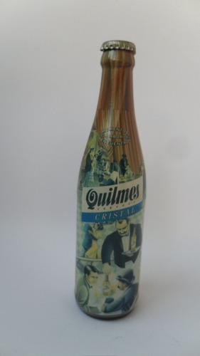 botella de vidrio de cerveza quilmes  (41)