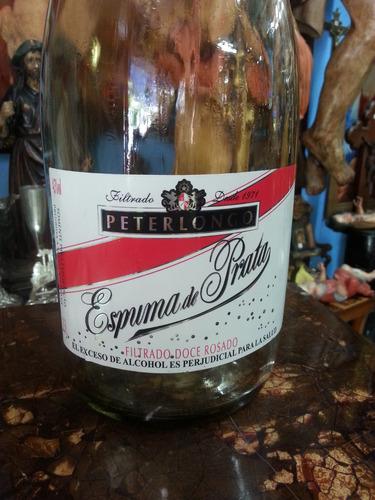 botella decorativa grande de vino en vidrio