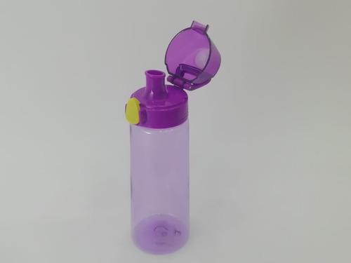 botella deportiva agua 750ml con tapa exelente