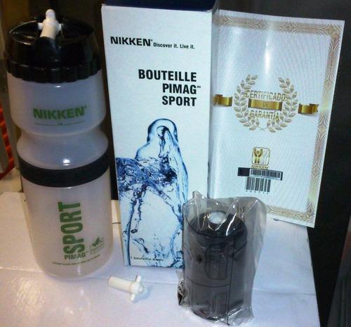 botella deportiva nikken