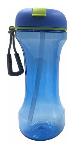 botella deportiva plástica 580ml pesa, publicidad