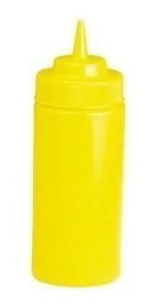 botella exprimible dispensador boca ancha 16 oz