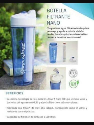 botella filtrante rena ware