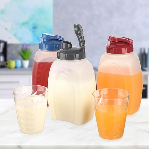 botella jugos familiar 1.8 lts shake it titiz original