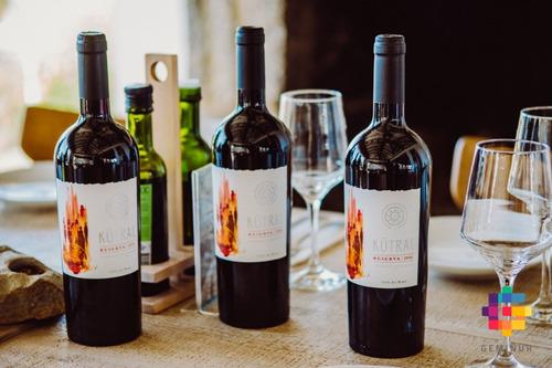 botella kütral vino cabernet sauvignon reserva 2016
