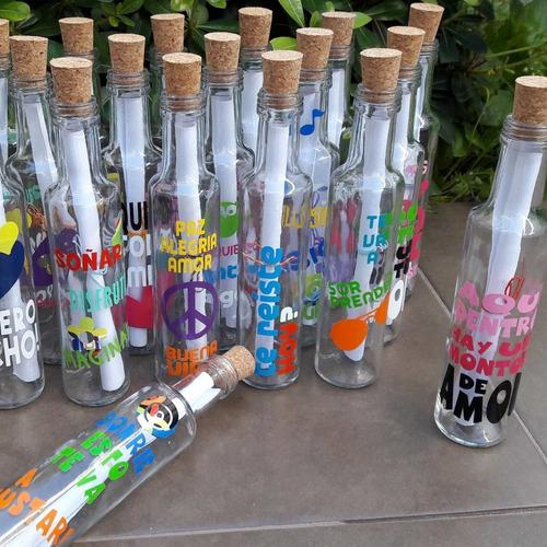 botella mensajera regalo original deseos navidad año nuevo
