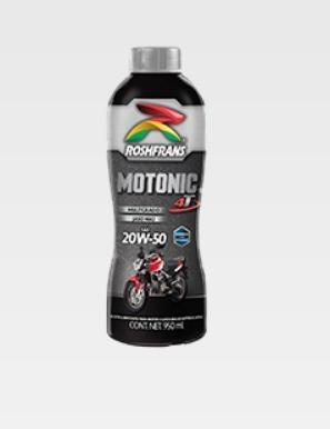 botella motonic 4 tiempos sae 20w50 roshfrans 950ml