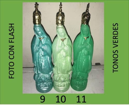 botella para agua bendita virgen de guadalupe 50 piezas