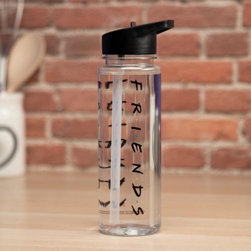 botella para agua friends