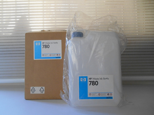 botella para residuos  de tinta - hp 780 waste ink bottle
