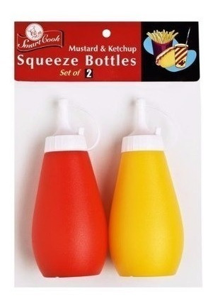 botella para salsa smart cook set 2 pzas