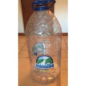 Botella Plástica De Agua De 5 Litros