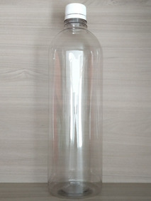 Botella Cuadrada Retro Sistema pl/ástico 1 litro