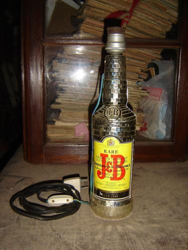 botella plateada edicion limitada jyb velador.