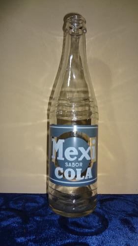 botella refresco mexi cola