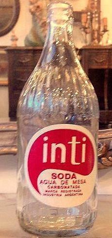 botella soda cordobesa inti