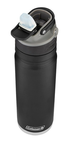 botella térmica coleman acero inox. switch 700ml black sand