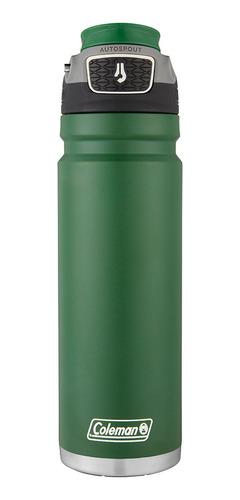 botella termica coleman switch 700ml verde coleman