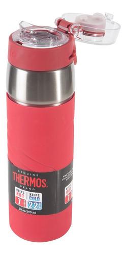 botella térmica hidratación 590ml ss roja  thermos