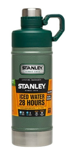 botella termica liquido verde 750 ml stanley