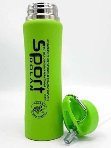botella térmica siliconada 750 ml termo deportivo regalarte