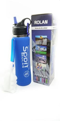 botella térmica sport pico nuevo frío calor silicona 750 ml