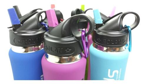 botella térmica sport rolan frío calor 350cc pico irrompible