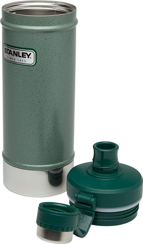 botella termica stanley iced water 750ml original acero 36hs
