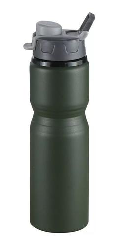 botella termica waterdog 750ml aluminio camping deporte frio