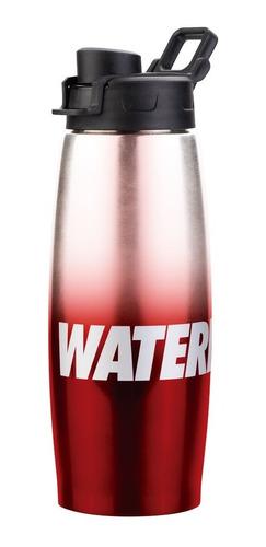 botella térmica waterdog acero inox 450  frio deportiva