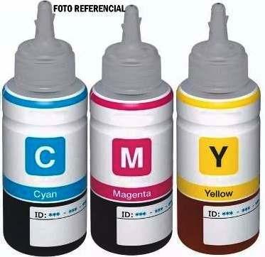 botella tinta impresora epson l200 l210 l1 l355 l365 color +