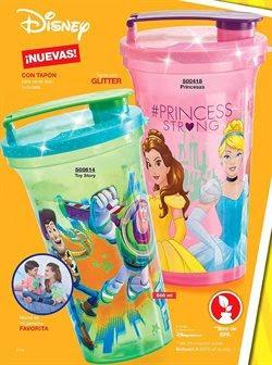 botella tipo cristal disney princesas toy story