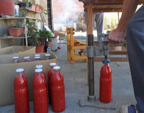botella tomate triturado 1000cm3  vacias leer bien
