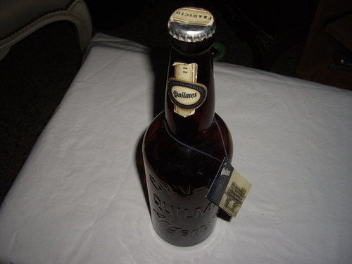 botella vacia cerveza quilmes 115 aniversario
