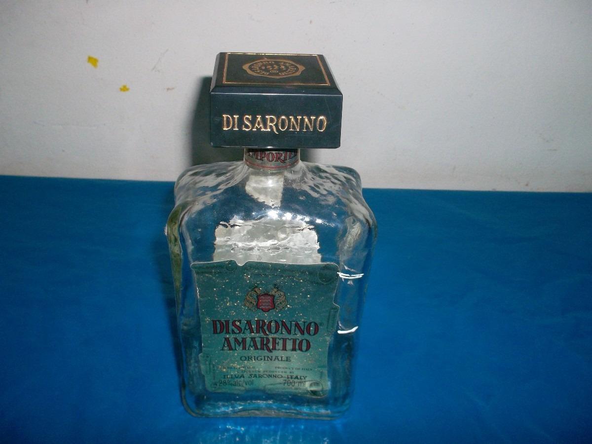 botella vacía de colección-licor italiano.