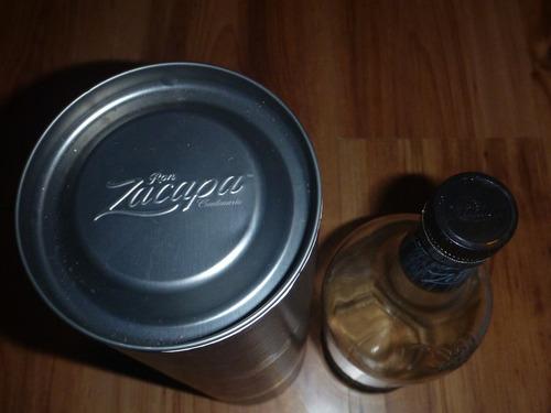 botella vacia ron zacapa edicion negra especial de 1 litro
