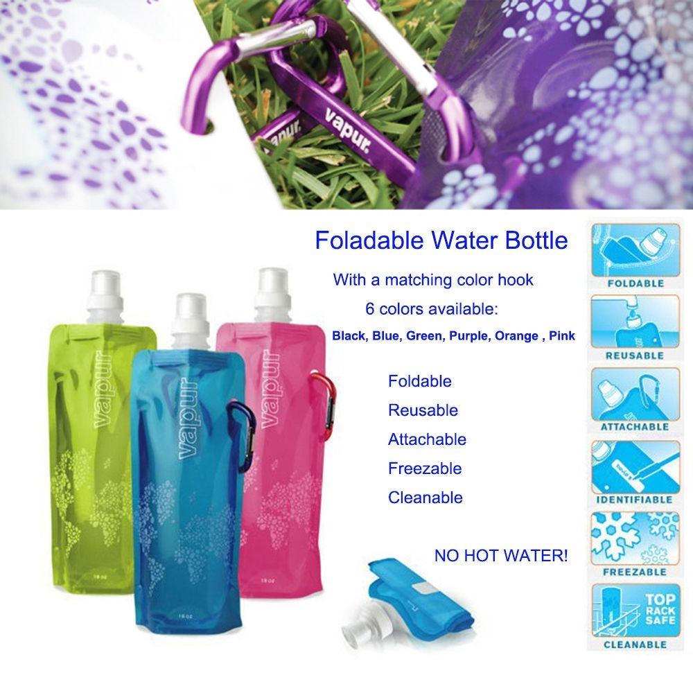75f490853a20 Botella Vapur Deportiva Pegable flexible Para 16oz. De Agua ...