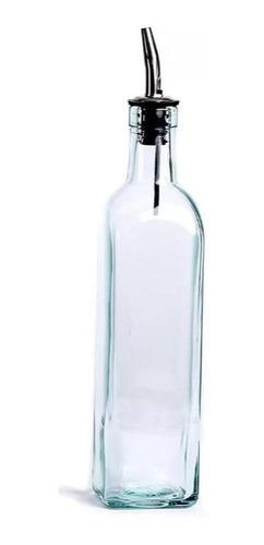 botella vidrio aceitera vinagre aceite oliva cocina vinajera