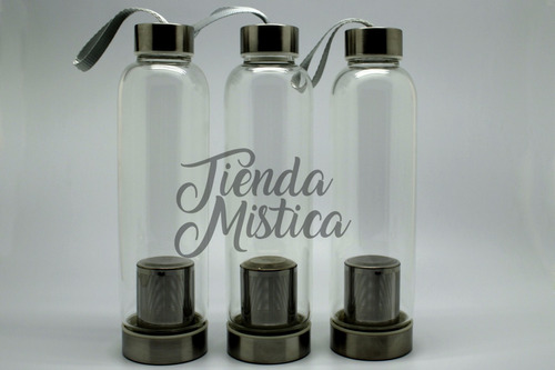 botella vidrio filtro y funda (12 x $47.990.-) $3.990 c/u