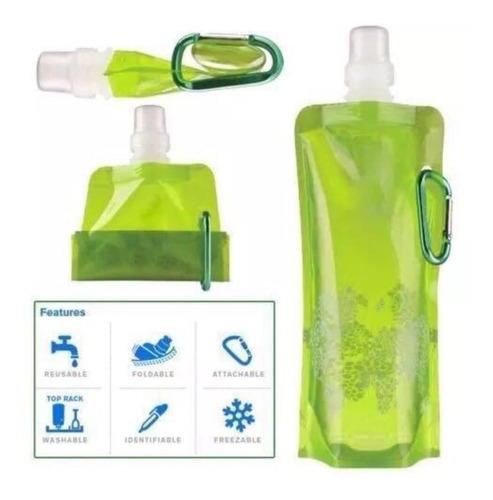 botellas agua plegable vapur 480 ml