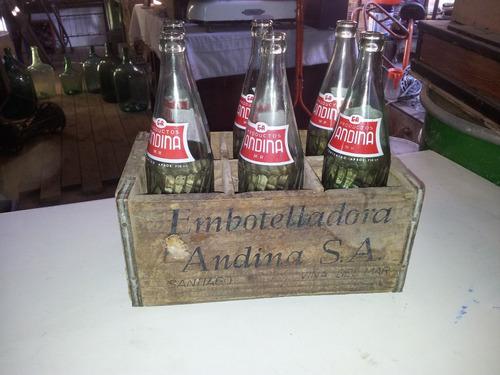 botellas andina de 750 cm con su caja origuinal